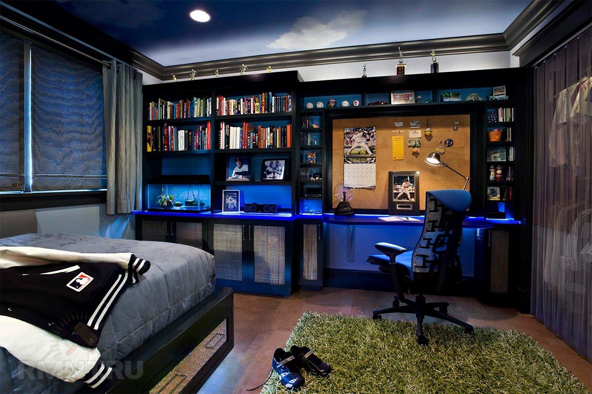Комната для юноши в картинках