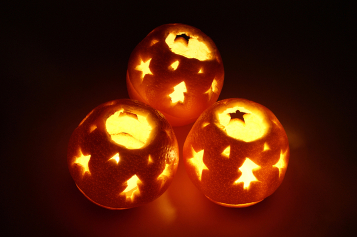 Новогодний декор из апельсинов и мандаринов идеи для дома,новогодний декор
