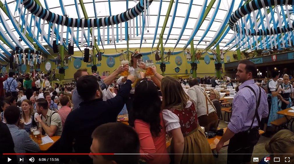 В Мюнхене стартовал традиционный праздник пива Октоберфест