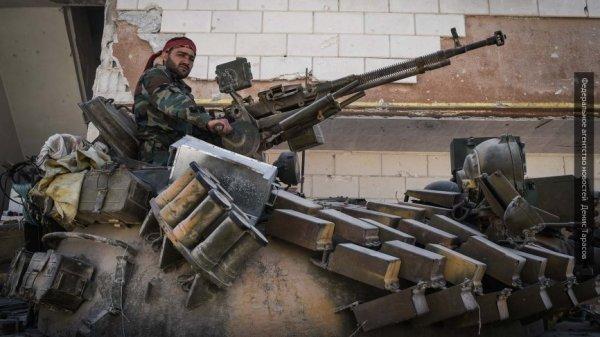 Сдают тяжелое оружие в Дамаске: боевики идут на попятную под натиском САА