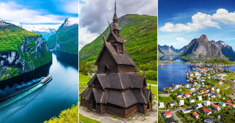 Очень любопытные факты о Норвегии викинги, интересно, история, норвегия, открытия, факты