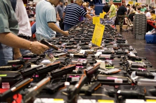 У американцев огромное количество оружия на руках Фото eurouacom