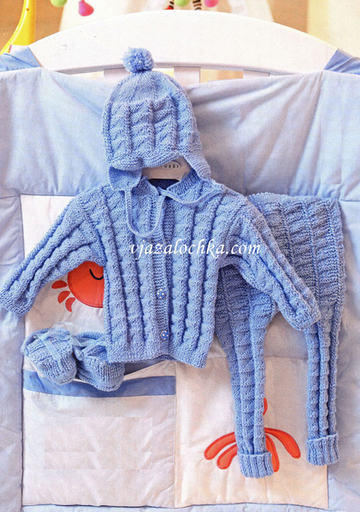 Вязание для малышей. Модель № 3