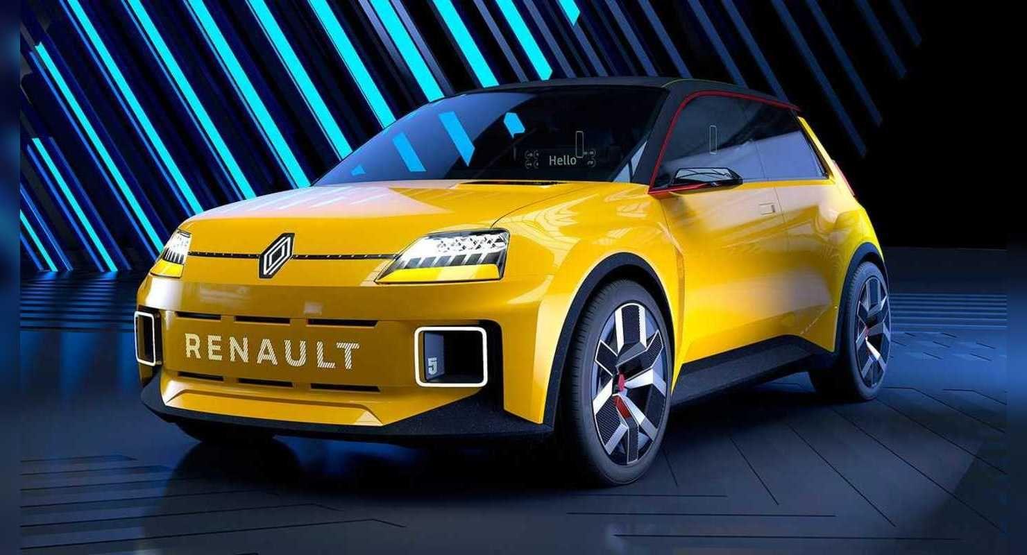 Renault возрождает модель Renault 5 под видом электрокара Автомобили
