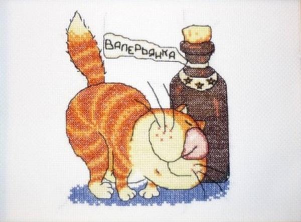 О вреде валерьянки для котов и кошек валерьянка,вред,домашние животные,здоровье,кошки и коты