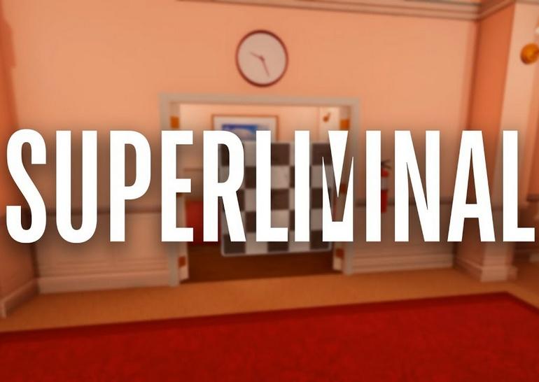 Superliminal: все не так как на самом деле logic,superliminal,Игры,Логические,обзоры