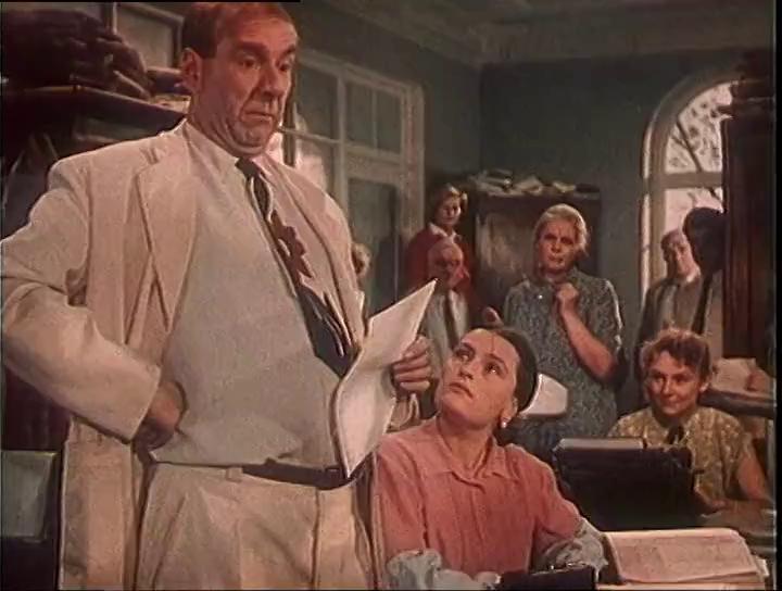 Противные но обаятельные бюрократы советского кино. актеры и роли