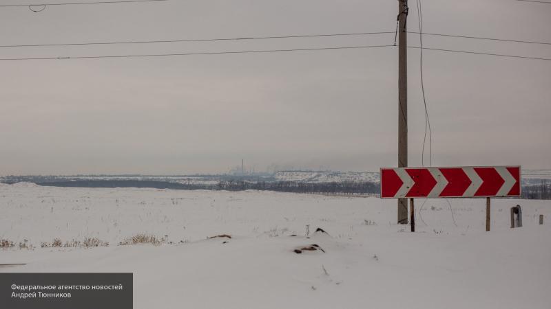 В ЛНР сообщили о подрыве украинского военного грузовика на мине