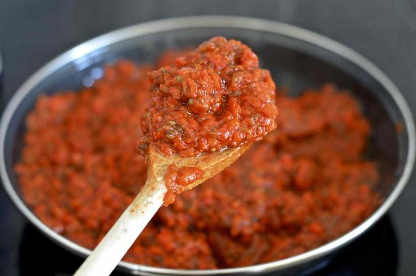 Очень вкусная овощная паста «Айвар» (готовим на зиму)
