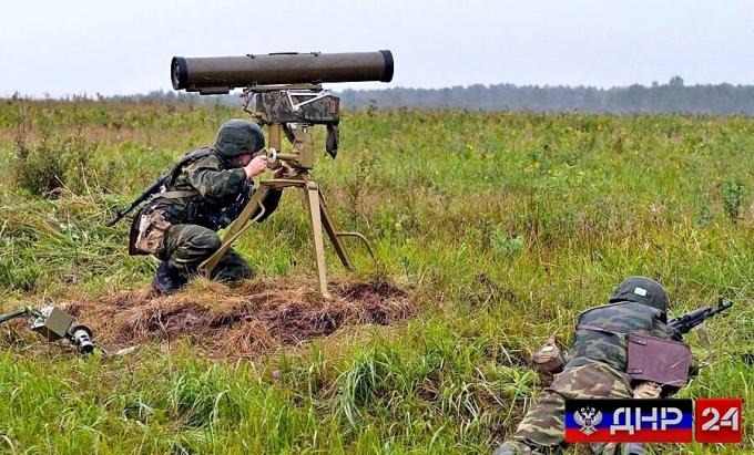 Подразделения НМ ДНР уничтожил огневую позицию ВСУ