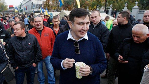 Саакашвили оспорил свое выдворение из Украины в окружном админсуде Киева