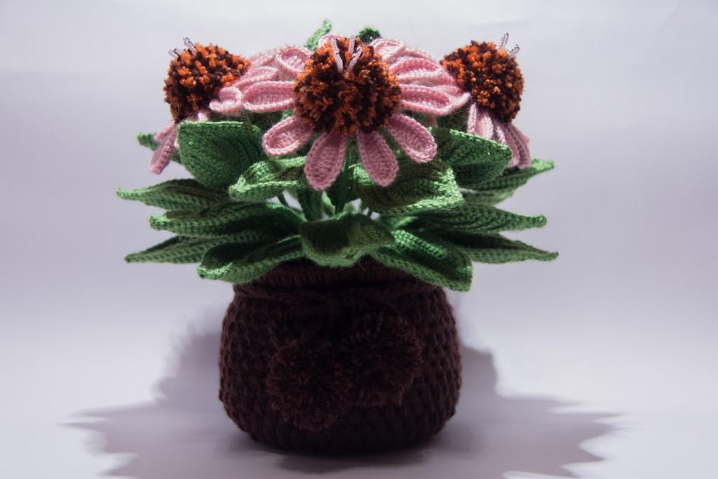 природе вязание горшечных цветов крючком фото способна