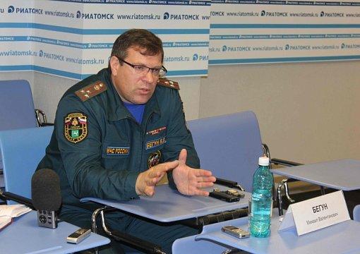 Задержан начальник томского управления МЧС