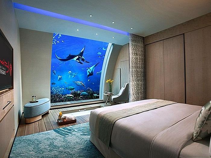 Resort World Santosa из Сингапура также имеет ряд удивительных подводных апартаментов. | Фото: ru.smarthomemaking.com.