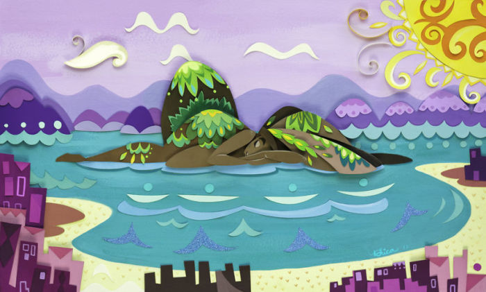 Райский остров. Автор: Nathanna Erica.