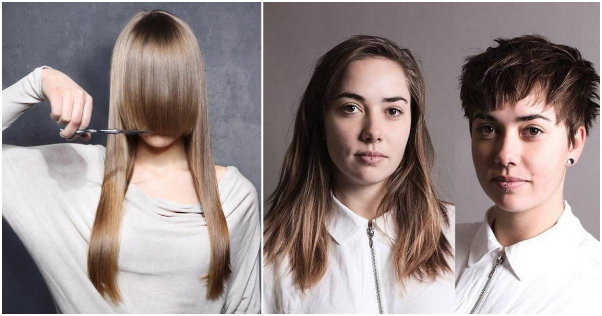 Обрезать волосы — не означает проиграть! Фото девушек до и после стрижки