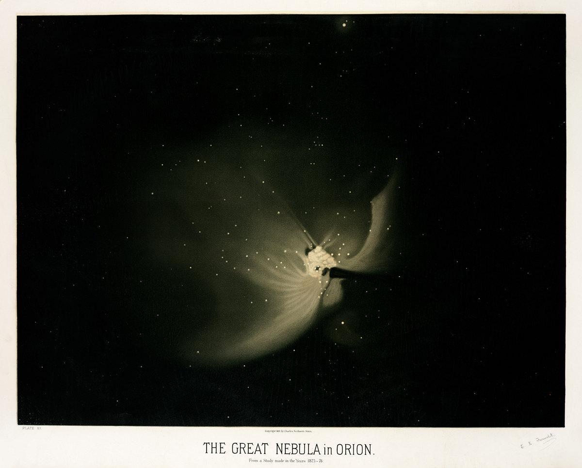 Старинные астрономические рисунки Этьена Трувело 16