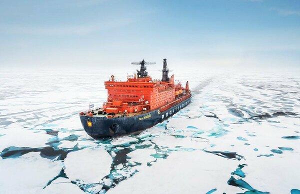 """Западные СМИ: США не могут потерпеть условий от России по """"Северному морскому пути"""" новости,события"""