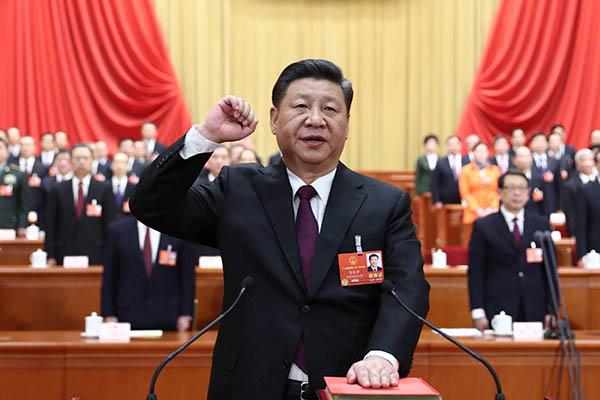 Император Японии поздравил Си Цзиньпина с избранием на пост председателя КНР