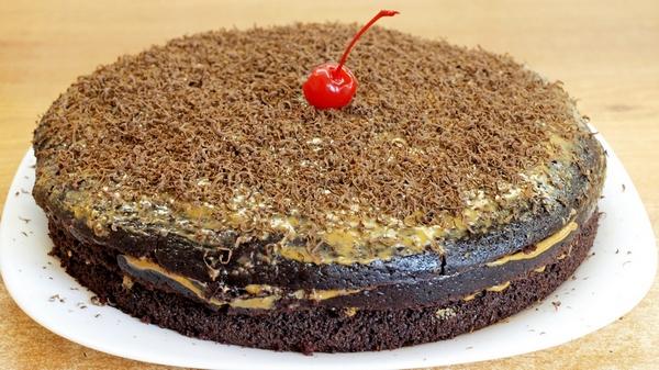 Шоколадный торт на кипятке -…