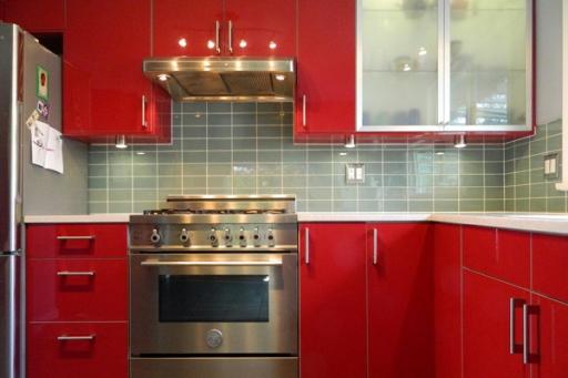 Оригинальные цветовые сочетания в интерьере кухни