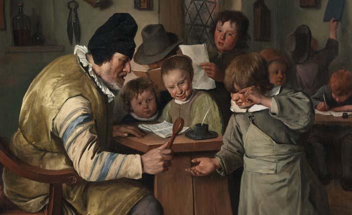 Школа на картинах старых мастеров: Порка, спящий учитель и другие интересные факты об образовании прошлого