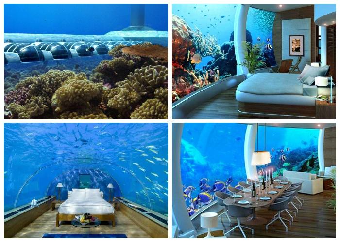 Подводный комплекс Посейдон насчитывает 25 номеров (Фиджи).