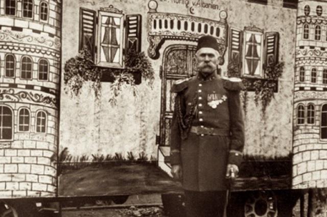 Клоун – король албанский Отто Албания,аферы,история,клоуны,Отто Витте