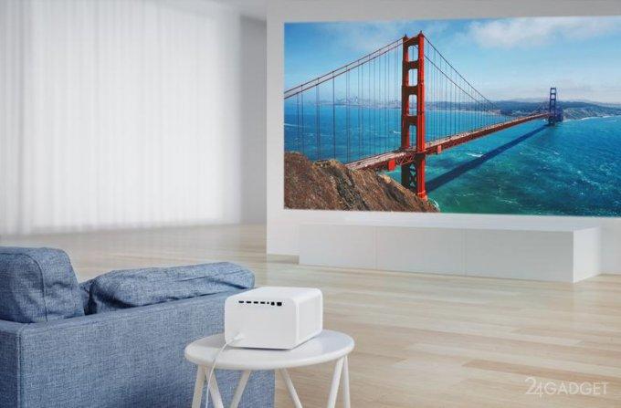 Новый проектор Xiaomi Mi Smart Projector 2 Pro оценили в 1000 евро проектор, Projector, обеспечивает, экрана, Smart, изображения, двумя, Используя, динамиками, автоматически, может, которая, искажений, трапецеидальных, коррекцию, выравнивает, оперативную, время, осуществлять, использованием