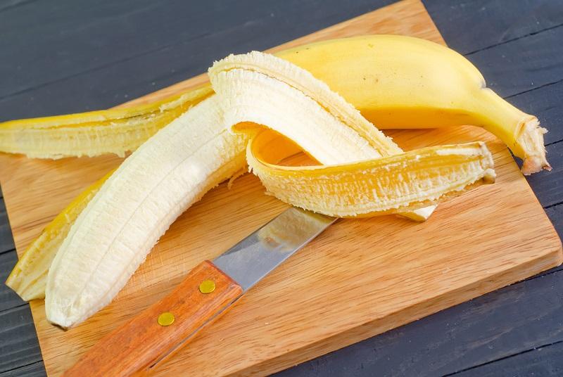Как запечь бананы с творогом