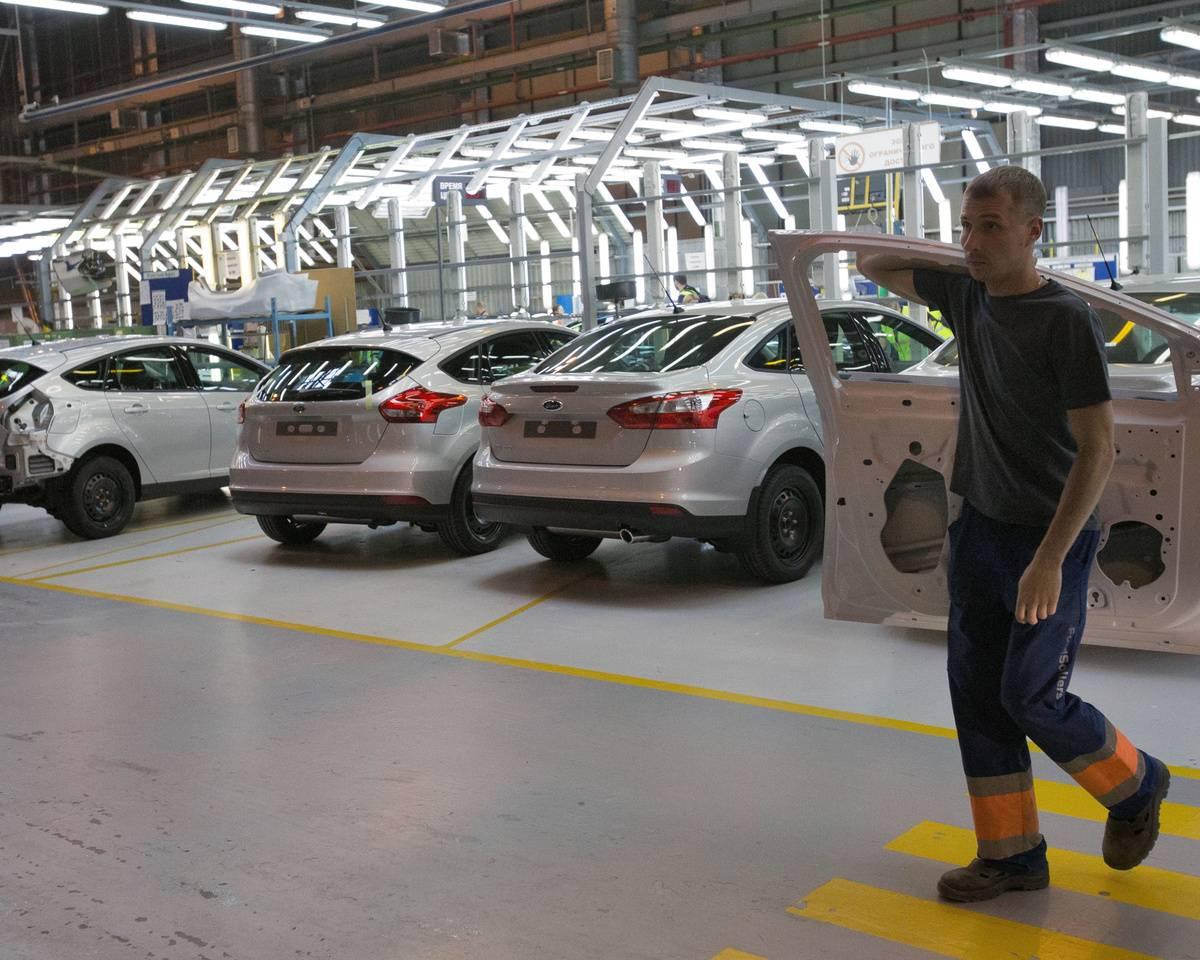 Российский завод Ford столкн…