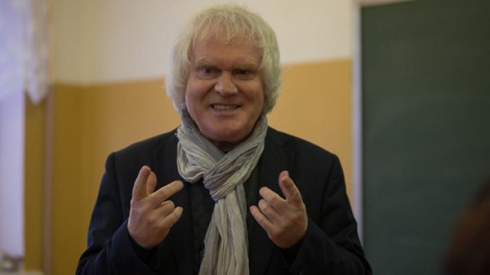 Юрий Куклачев и его супруга обновили свадебные клятвы в Ялтинском ЗАГСе Шоу-бизнес