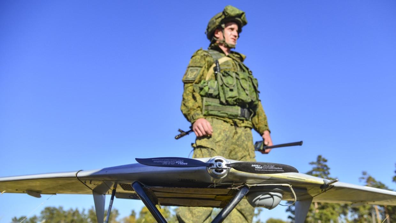 Российские военные ликвидировали цели при помощи дрона «Ласточка» на учениях «Запад-2021» Армия