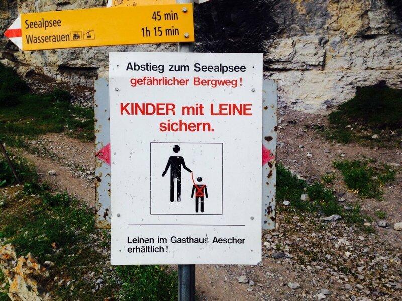 Во время похода в горы родители обязаны вести детей на поводке жизнь в Швейцарии, интересно, факты, швейцария