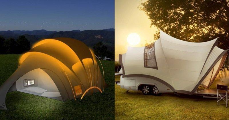 10 небанальных палаток с «изюминкой», которые сделают ваш отдых особенным