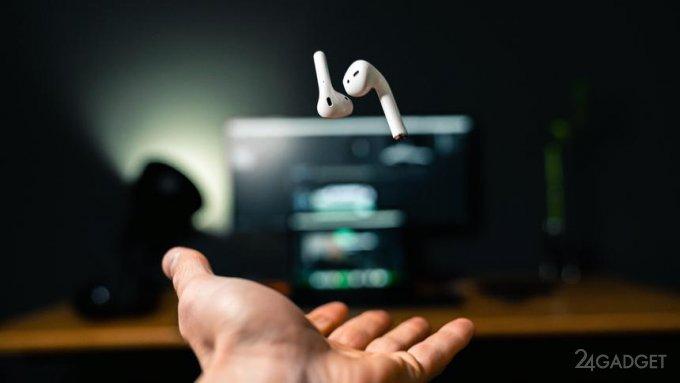 Как превратить наушники Apple AirPods в подслушивающее устройство бытовая техника,гаджеты,мобильные телефоны,наука,смартфоны,техника,технологии,электроника