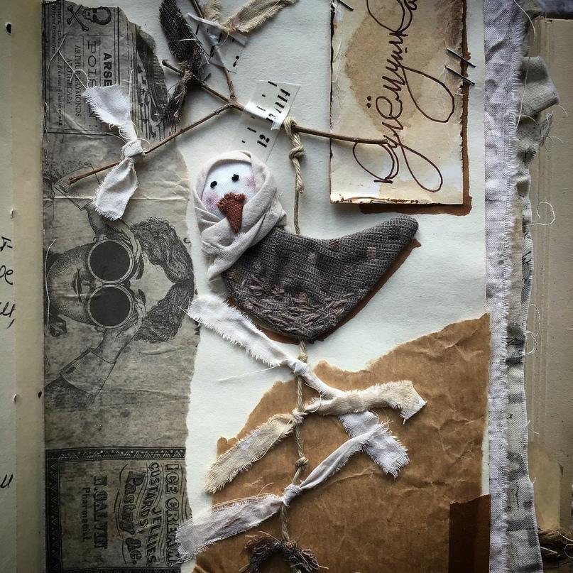 Глоток вдохновения!Текстильная миниатюра вдохновляемся,творчество