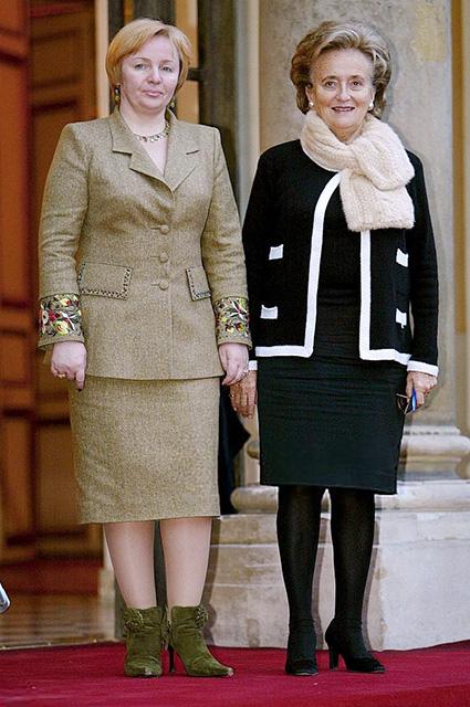 Людмила Путина и Бернадетт Ширак