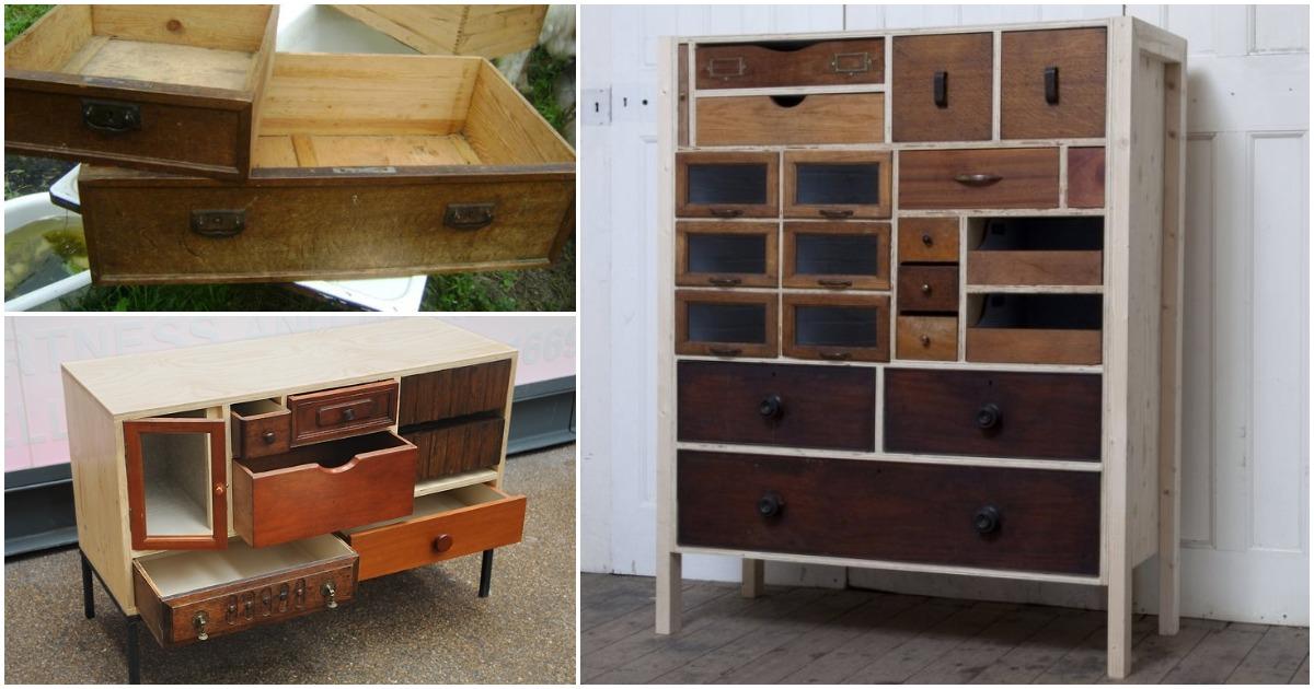 Стильная мебель из старых ящиков: круто, бюджетно, функционально