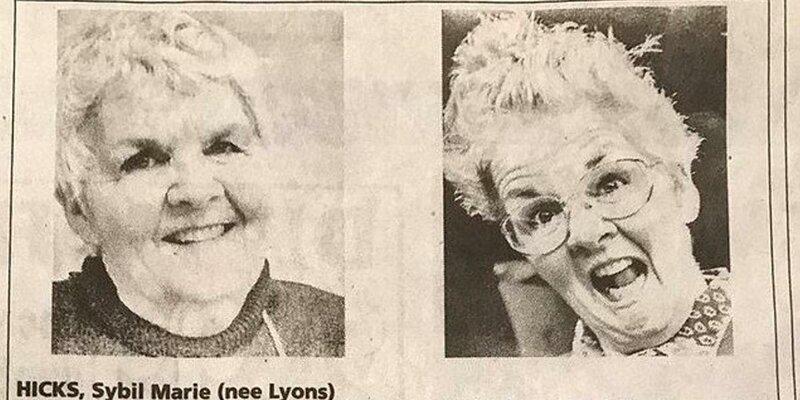 Старушка в своём некрологе высмеяла собственную кремацию