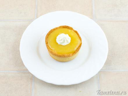 Тарталетки с лимонным кремом — 14 шаг