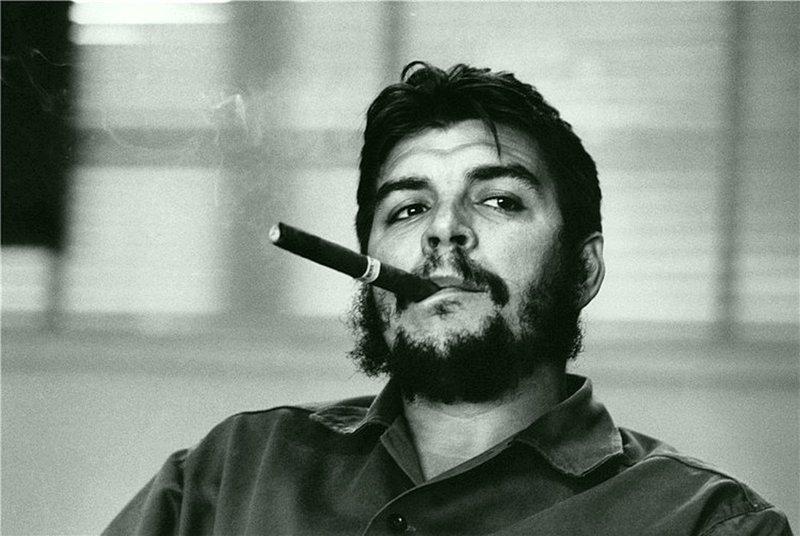 Рене Бурри - Эрнесто Гевара де ла Серна, названный Эль-Че , 1963 Весь Мир в объективе, история, фотография