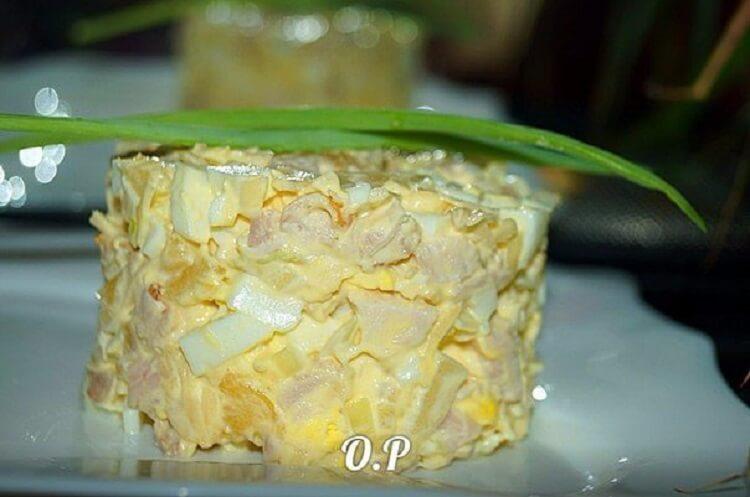 Безумно вкусный салат «Татьяна»