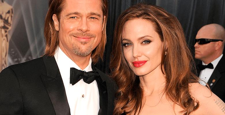 Брэд Питт и Анджелина Джоли …
