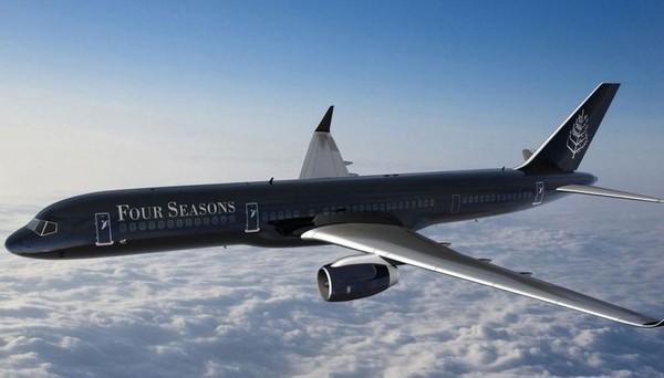 Four Seasons предлагает совершить 23 дневное кругосветное путешествие на реактивном самолете