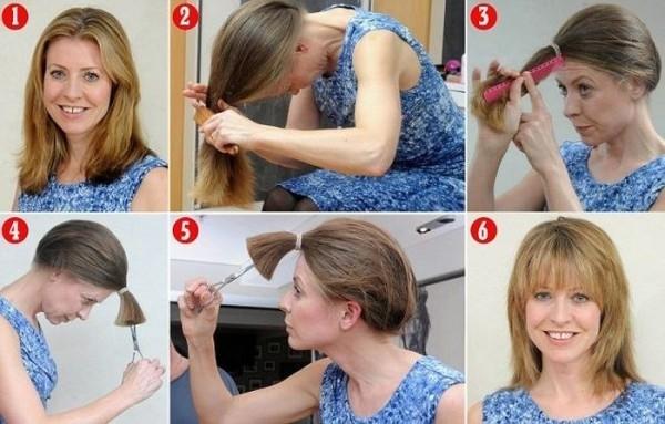 Сам себе парикмахер: мастер-класс