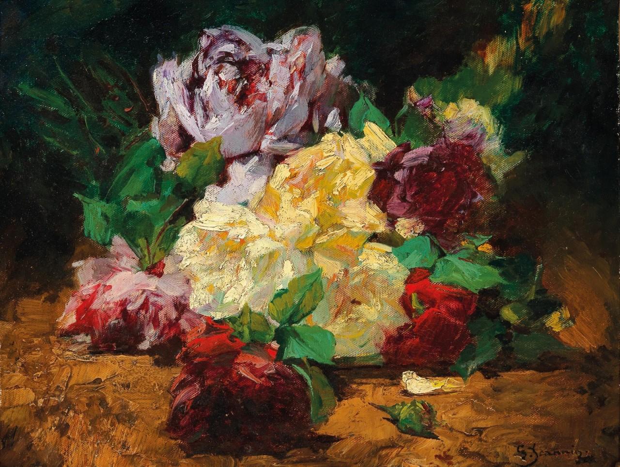 Жорж Женнин (Georges Jeannin), 1841-1925. Франция