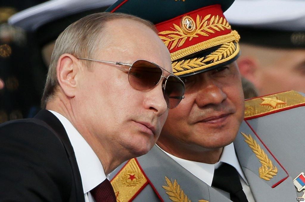 В сирийской партии Путин пос…