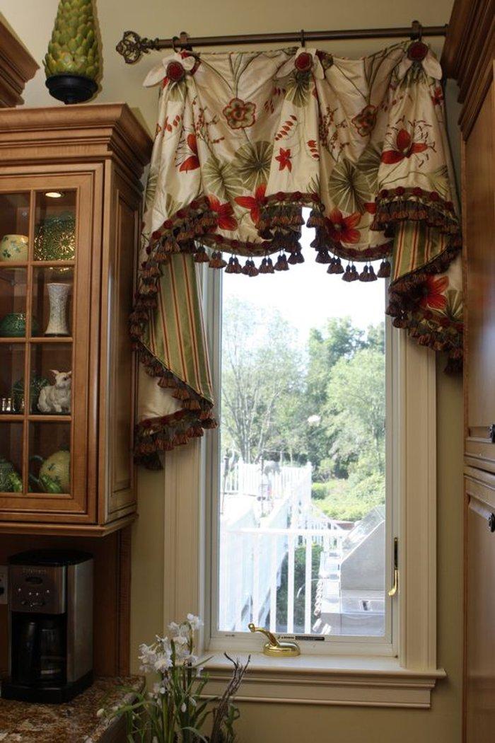 предшестовала занавески на узкое кухонное окно фото бергамот огороде
