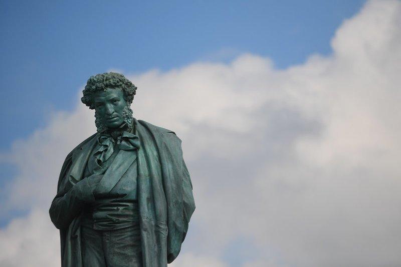 2. Александр Пушкин ленин, памятник, память, пушкин, россия, топ